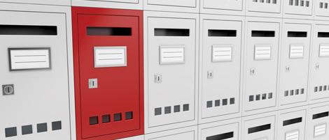 mailbox-red