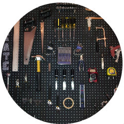 StorageHacks Peg Board